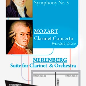 Mozart and modern clarinet concerti