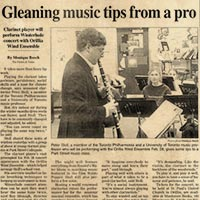 Gleaning Music Tips from a Pro