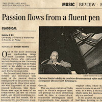 Passion Flows from a Fluent Pen
