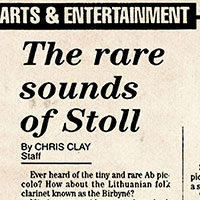 The Rare Sounds of Stoll