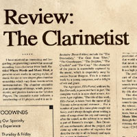 Review, The Clarinetist