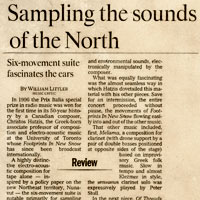 Sampling the Sounds of the North