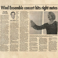 Wind Ensemble Concert hits right notes